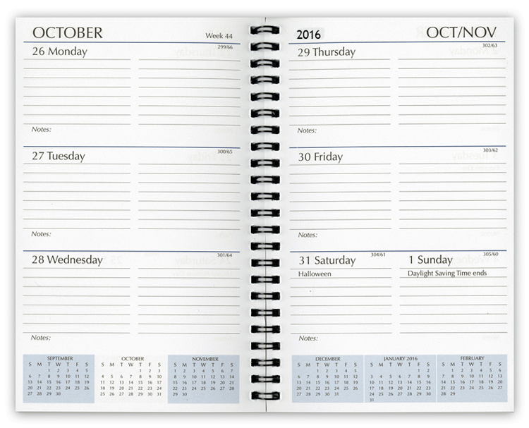 2016 Planner Refills, Weekly Planner Refill Inserts