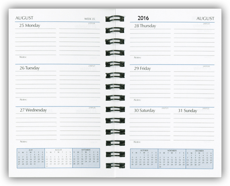 2016 Planner Refills Weekly Planner Refill Inserts