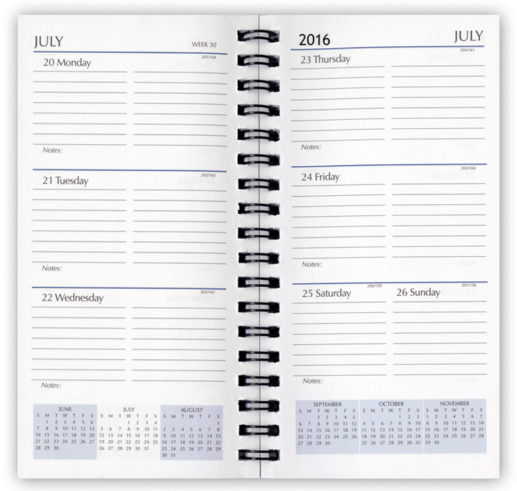 2017 Planner Refills, Weekly Planner Refill Inserts