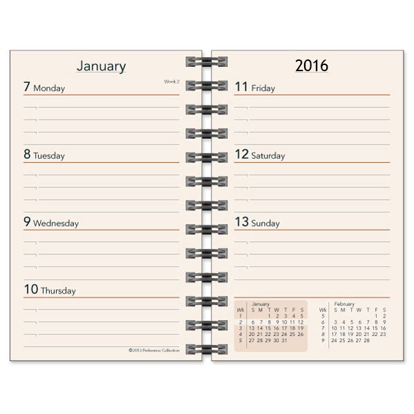 Calendar Planner Refill Pages : Planner refills weekly refill inserts
